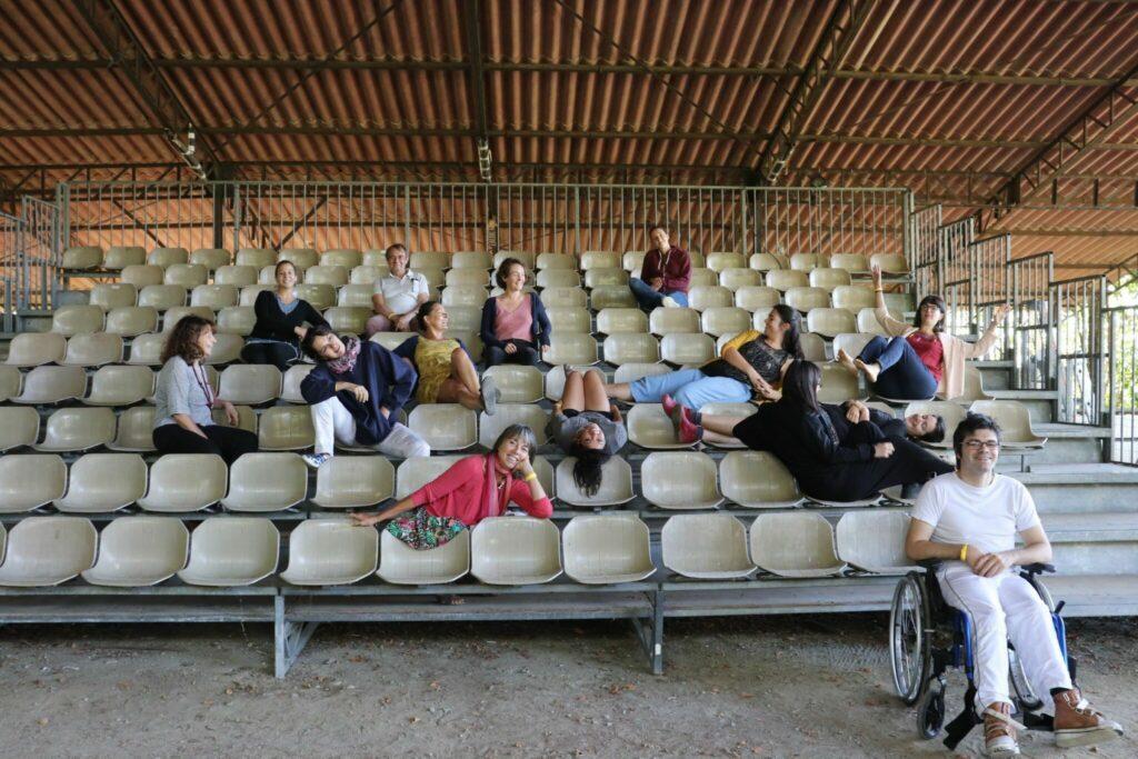 Comités spectateurs — visite au Tracteur (Cintegabelle), lieu de création et de résidence - septembre 2020